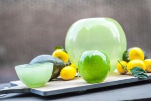 Dutz Glas in vielen Farben